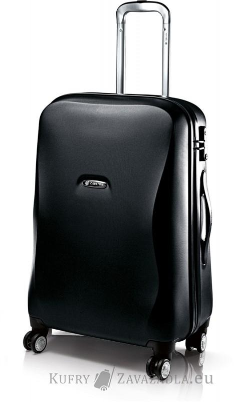 Carlton ALBA Spinner Trolley Case 53cm (černá texturovaná)