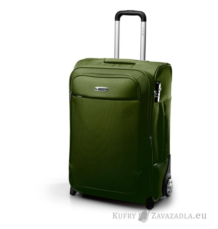 Carlton EXPERIA Expandable Trolley Case 55cm (olivově zelená)