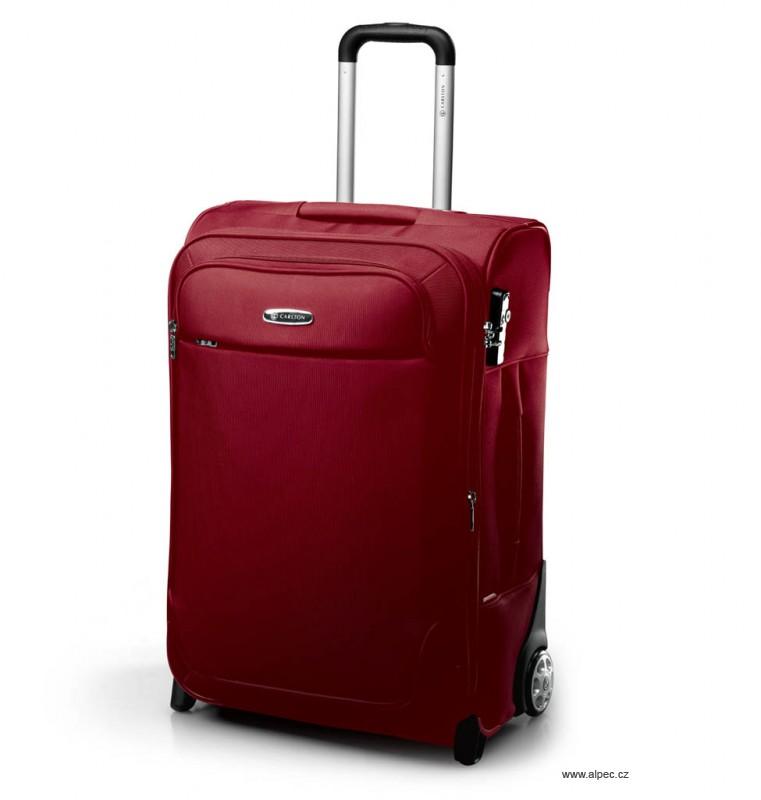 Kufr EXPERIA Expandable Trolley Case 55cm (vínová)