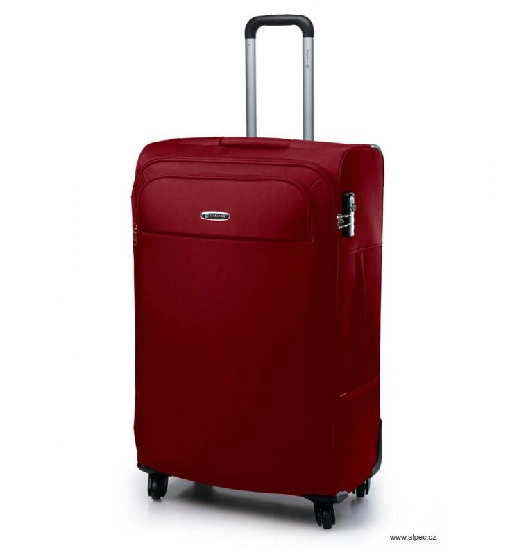 Kufr EXPERIA Expandable Spinner Case 78cm (vínová)