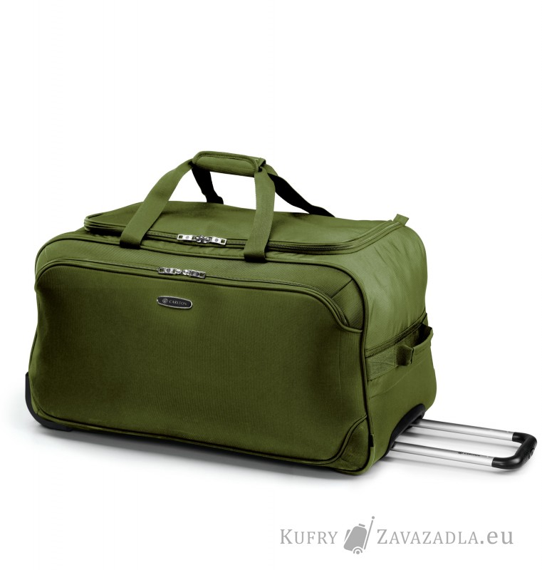Carlton EXPERIA Holdall with Trolley 70cm (olivově zelená)