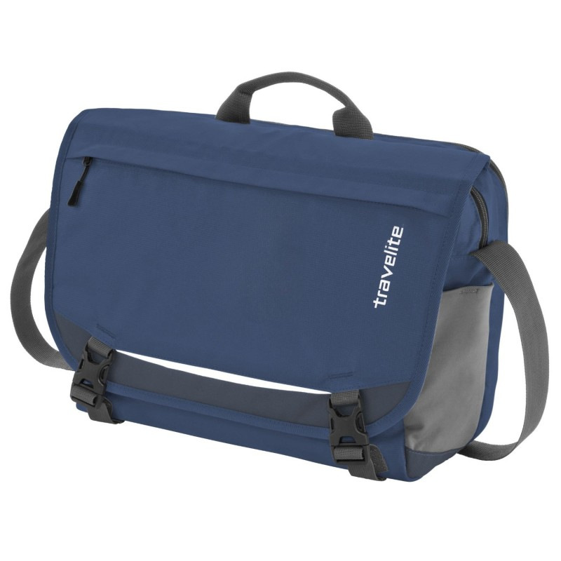 Travelite BASICS Messenger Bag (Navy)