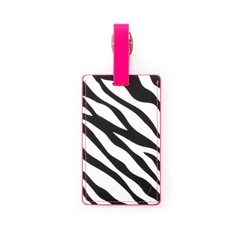 Heys - Jmenovka na kufr - vzor Zebra