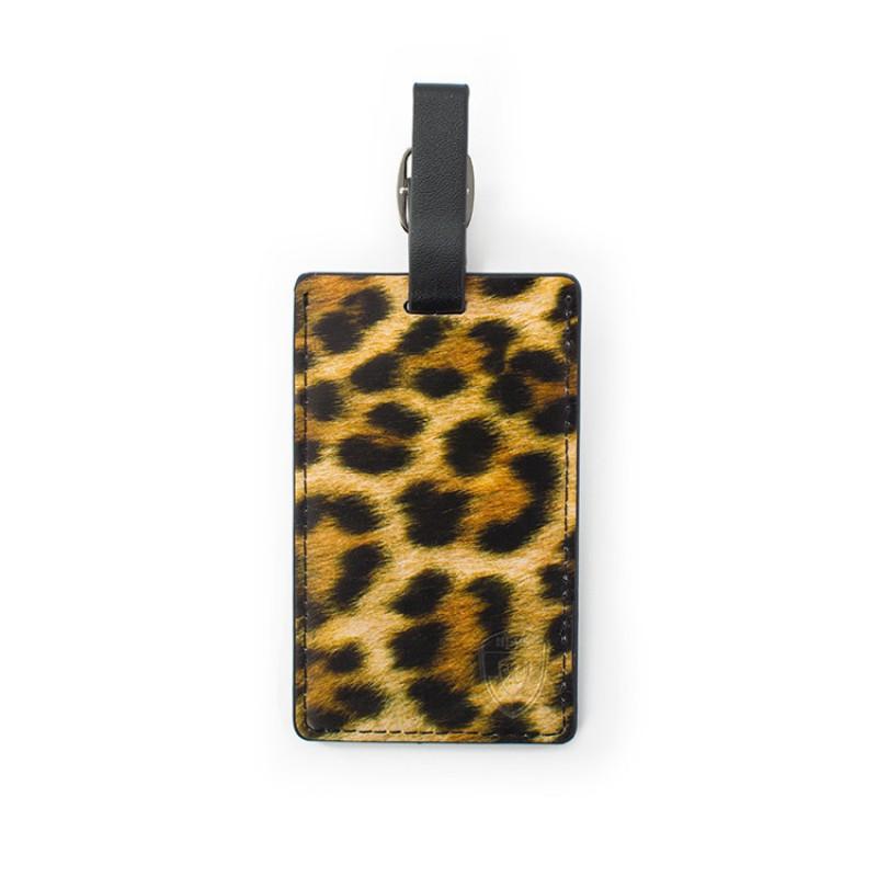 Heys - Jmenovka na kufr - vzor Leopard