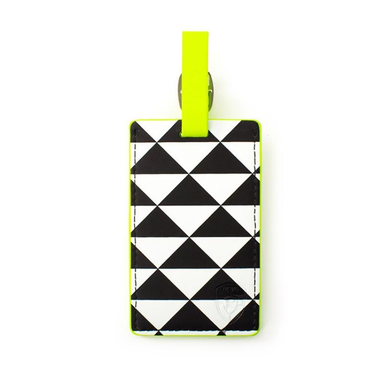 Heys - Jmenovka na kufr - vzor Triangle Check