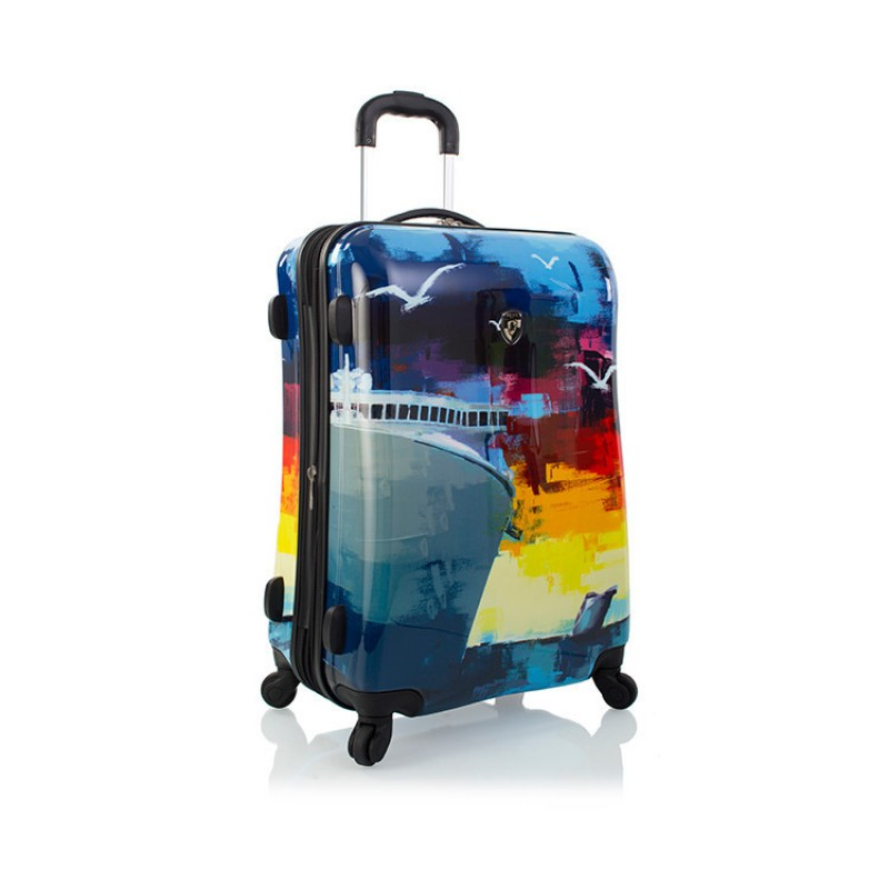 Heys CRUISE Kufr s motivem cestování, 66 cm