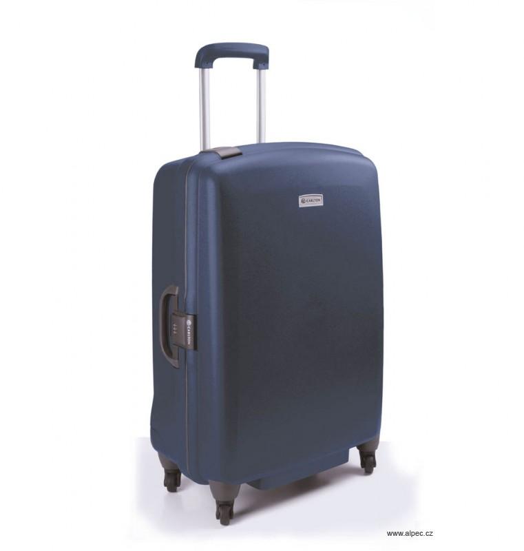 Kufr GLIDER II Trolley Case (4w) 75 cm - without divider (modrozelená)