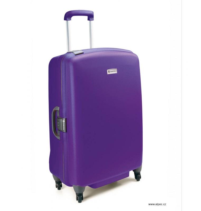 Kufr GLIDER II Trolley Case (4w) 82 cm - without divider (fialová)