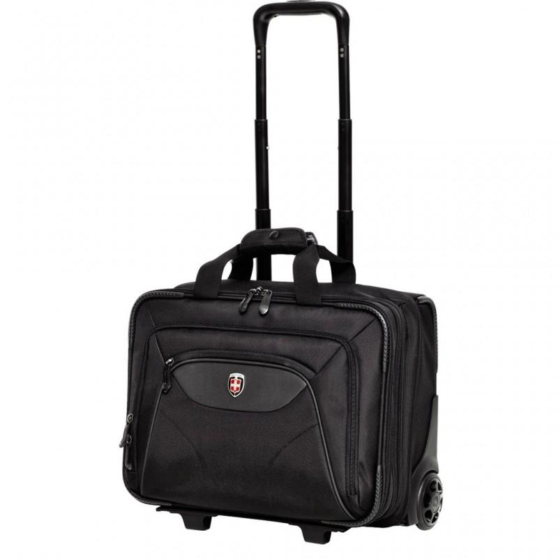 Ellehammer COPENHAGEN Pilotní kufr Commuter (černý)