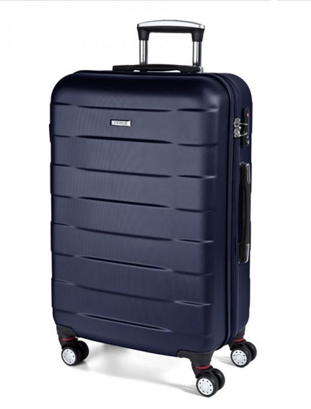 March BUMPER Cestovní kufr 4 kolečka 76 cm, L (navy)