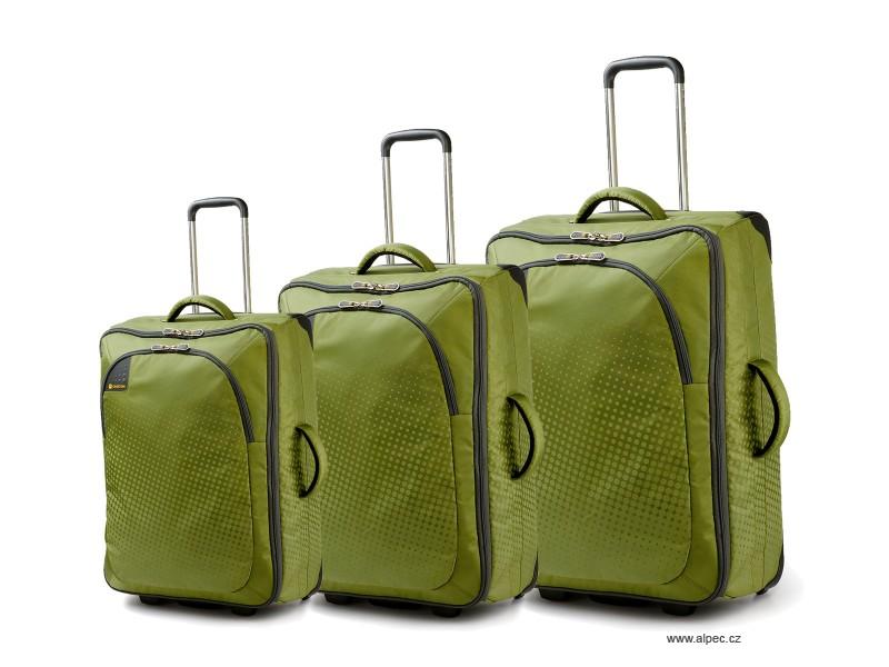 Carlton TRIBE Trolley Set 72/65/50cm (zelená)