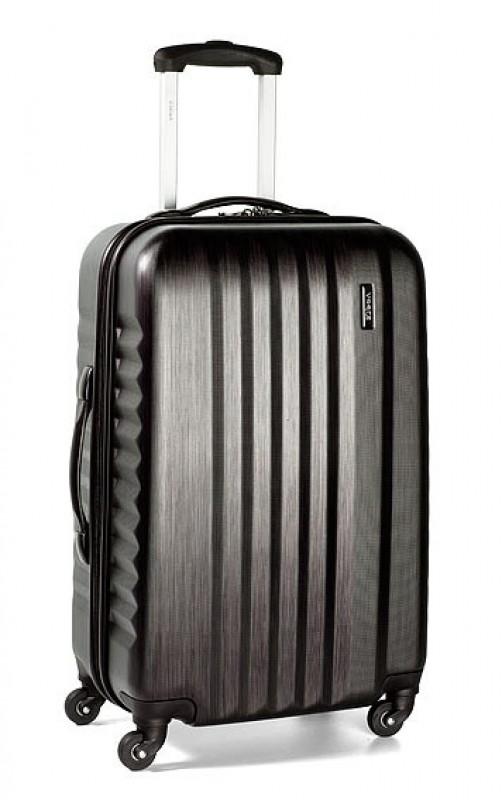 March RIBBON Kabinový kufr 4 kolečka 55 cm, S (Black brushed)