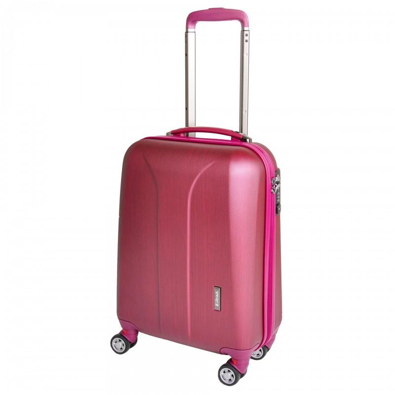 March NEW CARAT Palubní kufr na 4 kolečkách 55 cm (Burgundi brushed)