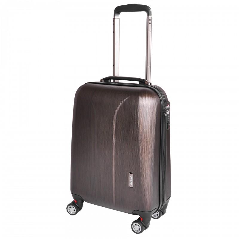 March NEW CARAT Palubní kufr na 4 kolečkách 55 cm (Bronze brushed)