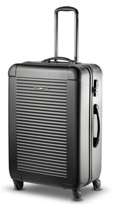 Ciak Roncato 101PC LIGHT Elegantní skořepinový kufr, L (black)