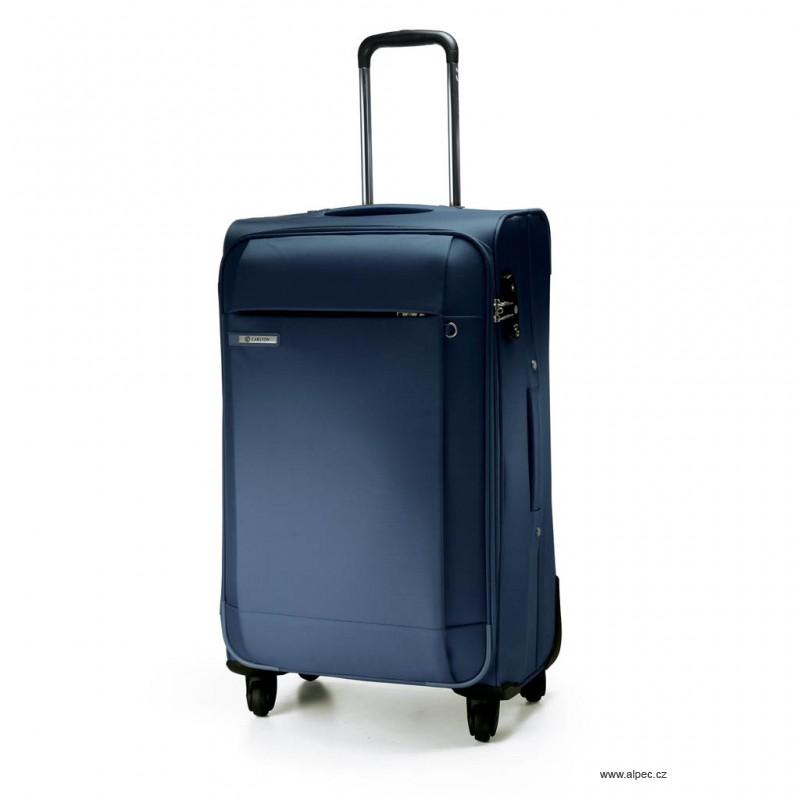 Kufr TITANIUM Spinner Trolley Case 68cm (tmavě modrá)