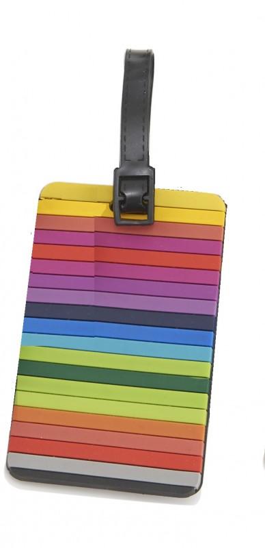 Travelite - Jmenovka na kufr - vzor Stripes