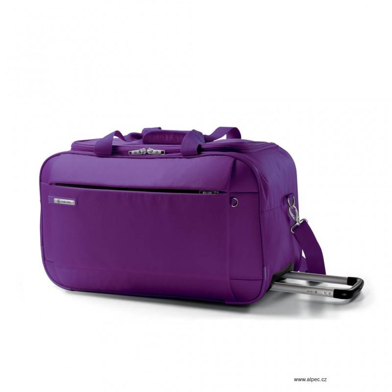 Cestovní taška TITANIUM Holdall with Trolley 68cm (purpurová)