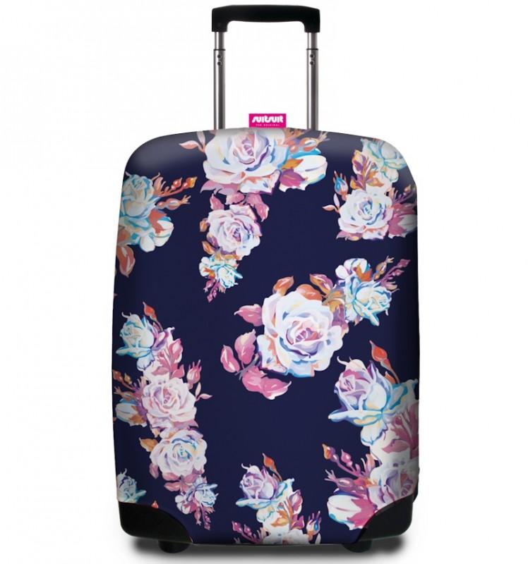 SuitSuit - Obal na kufr - vzor Roses