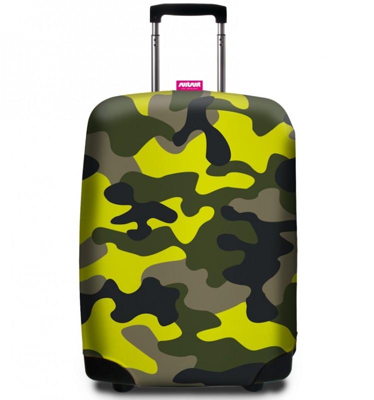 SuitSuit - Obal na kufr - vzor Glamo Camo