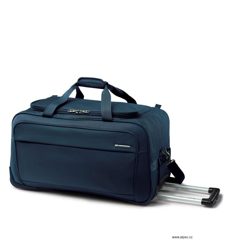 Cestovní taška OMEGA Holdall with Trolley 65cm (tmavě modrá)