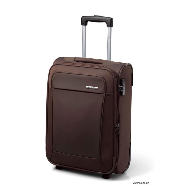 Kufr OMEGA Expandable Trolley Case 55cm (khaki)