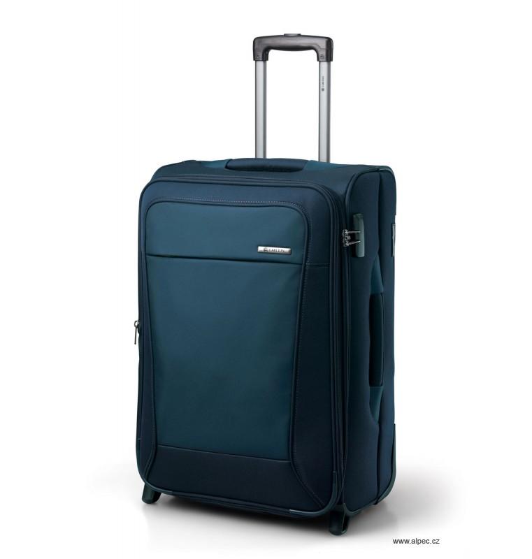 Kufr OMEGA Expandable Trolley Case 65cm (tmavě modrá)