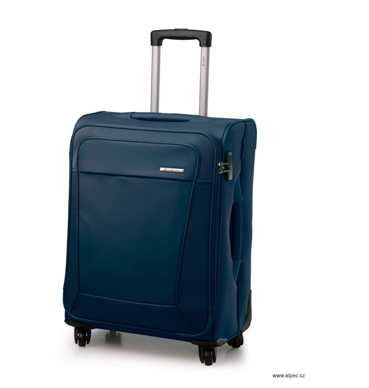 Kufr OMEGA Spinner Trolley Case 55cm (tmavě modrá)