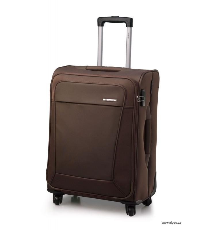Kufr OMEGA Spinner Trolley Case 55cm (khaki)