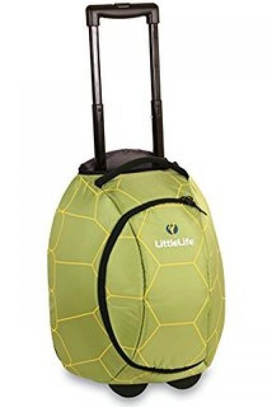 LittleLife ANIMAL WHEELIE DUFFLE Dětská cestovní taška na kolečkách - Želva