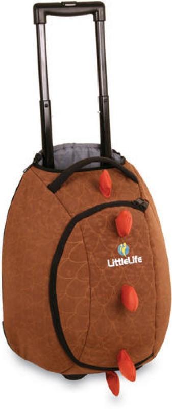 LittleLife ANIMAL WHEELIE DUFFLE Dětská cestovní taška na kolečkách - Dinosaurus