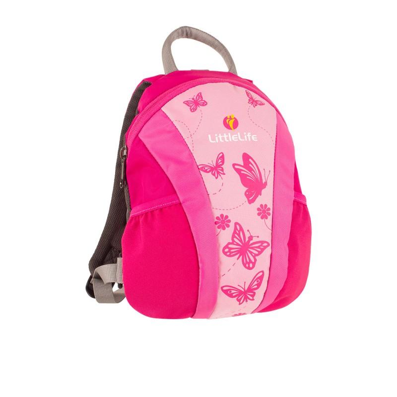 LittleLife RUNABOUT TODDLER DAYSACK Batoh pro nejmenší děti, 3 l - růžový