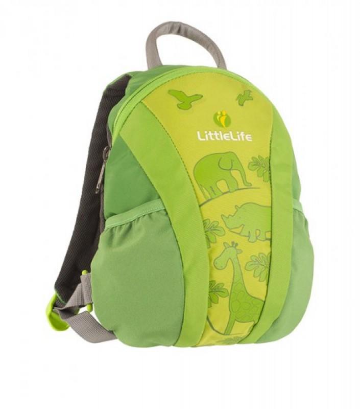 LittleLife RUNABOUT TODDLER DAYSACK Batoh pro nejmenší děti, 3 l - zelený