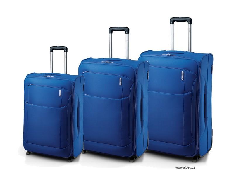 Carlton OASIS Expandable Trolley Set 72/65/55cm (modrá indigo)