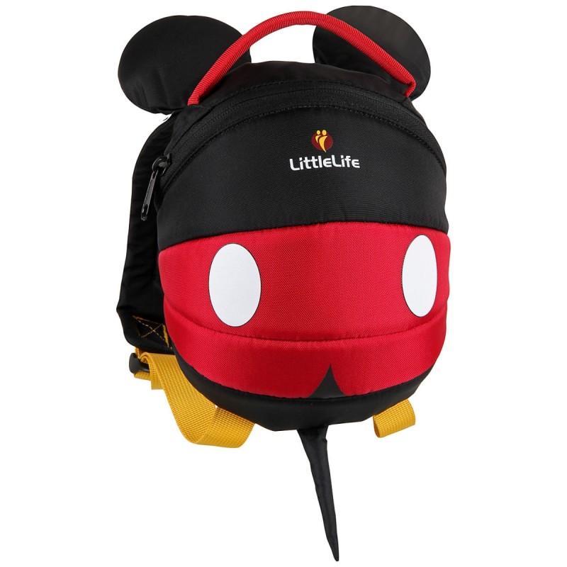 LittleLife DISNEY TODDLER DAYSACK Batoh pro nejmenší děti, 2 l - Mickey