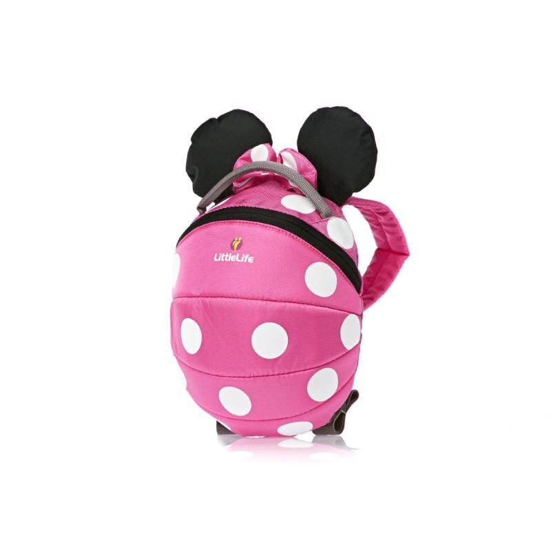 LittleLife DISNEY TODDLER DAYSACK Batoh pro nejmenší děti, 2 l - Pink Minnie