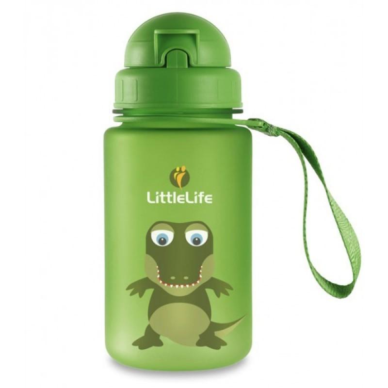 LittleLife ANIMAL BOTTLE pro děti 0,4 l - vzor Crocodile