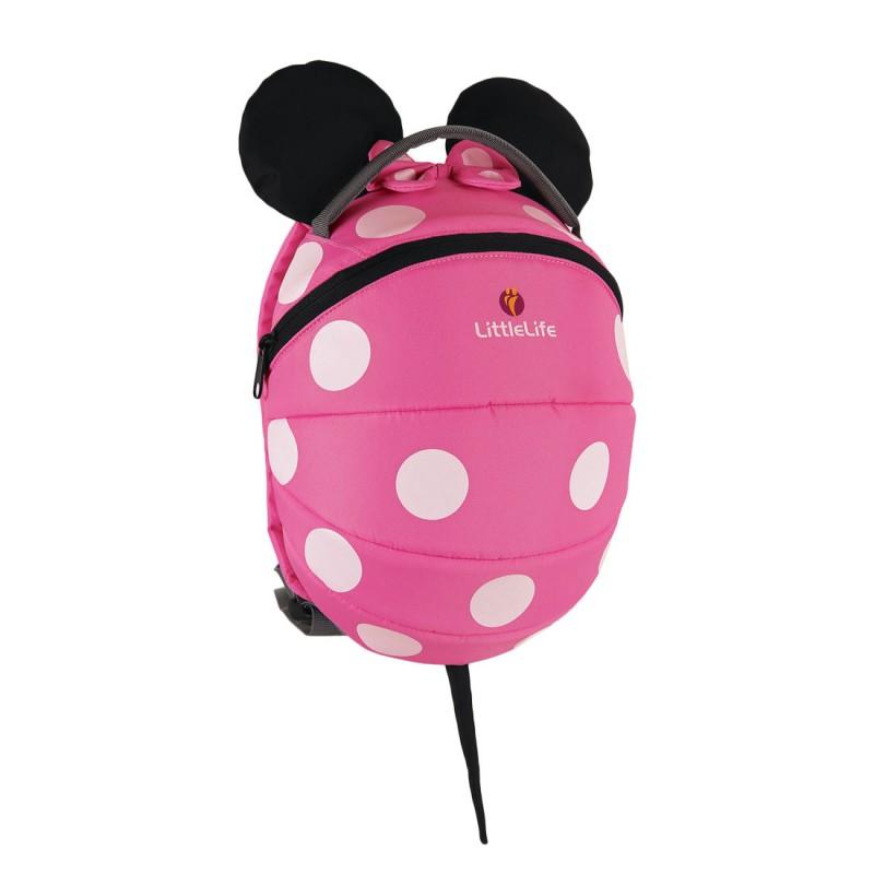 LittleLife DISNEY KIDS DAYSACK Batoh pro děti od 3 let, 4 l - Pink Minnie Mouse
