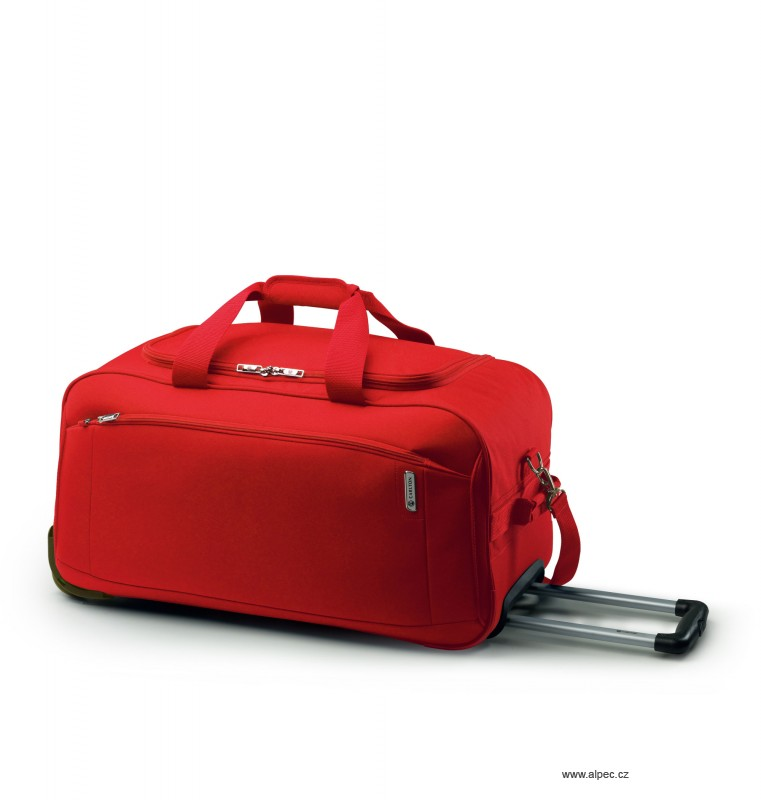 Cestovní taška OASIS Holdall with Trolley 65cm (červená)