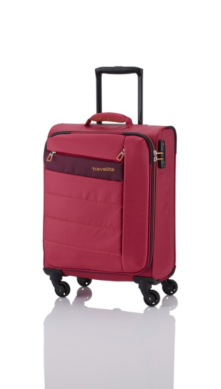 Travelite KITE Ultra lehký kufr 4 kolečka, S (Pink)