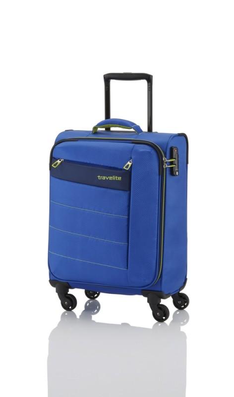 Travelite KITE Ultra lehký kufr 4 kolečka, S (Royal Blue)