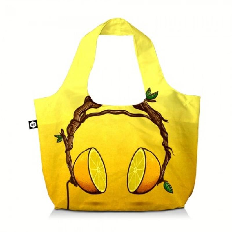 BG Berlin ECO BAG Skládací taška, vzor Juicy Beats