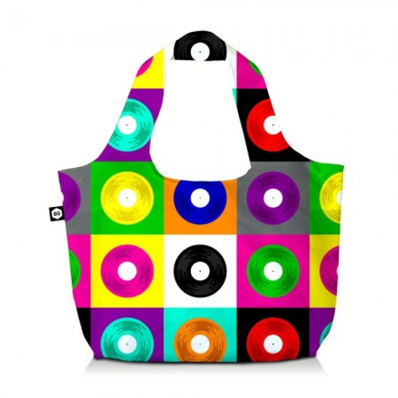 BG Berlin ECO BAG Skládací taška, vzor Glam LPS