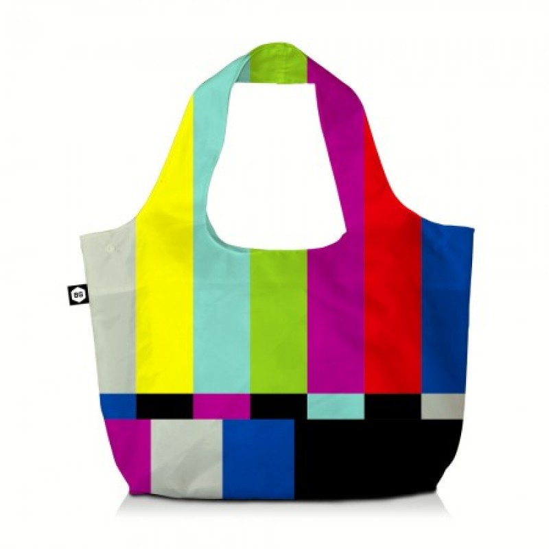 BG Berlin ECO BAG Skládací taška, vzor TV Set