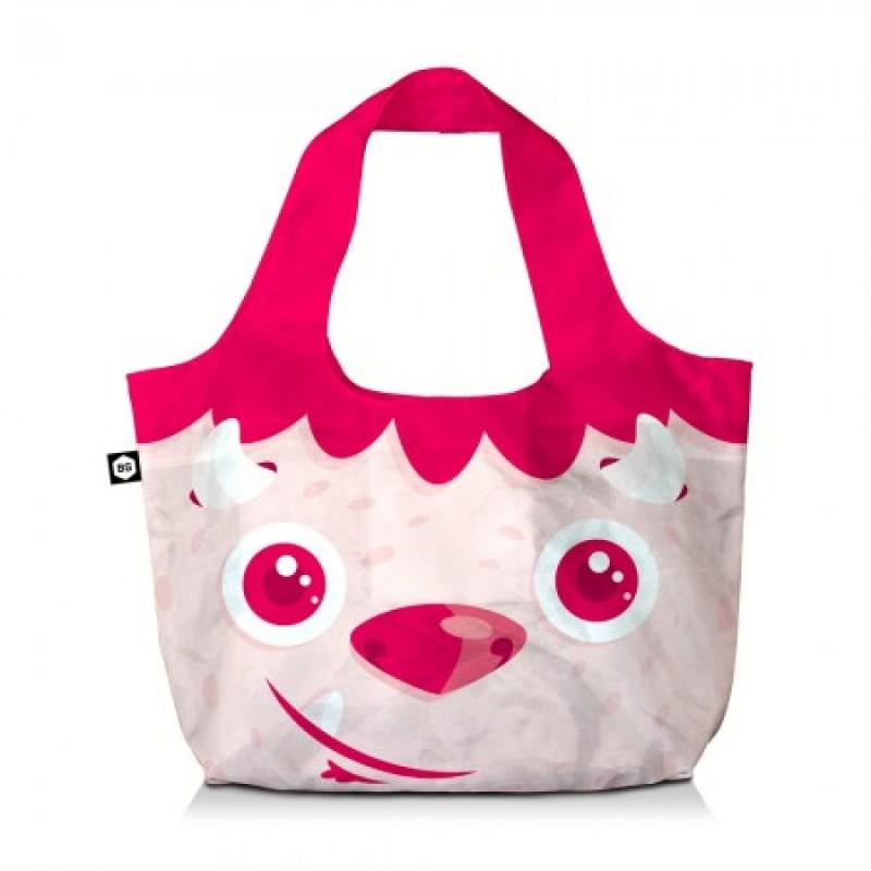 BG Berlin ECO BAG Skládací taška, vzor Red Head