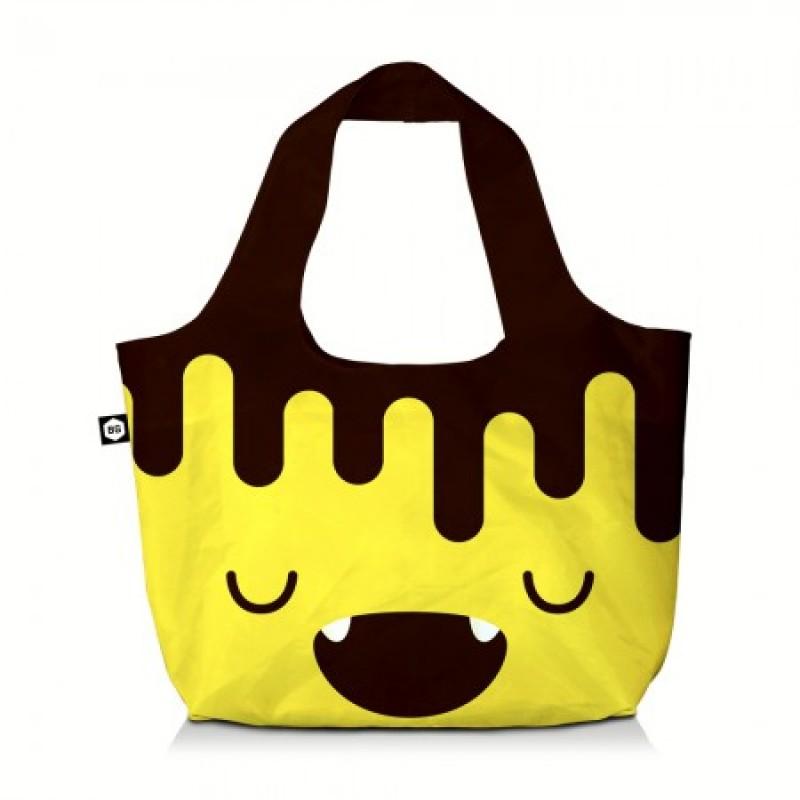 BG Berlin ECO BAG Skládací taška, vzor Chocobanana