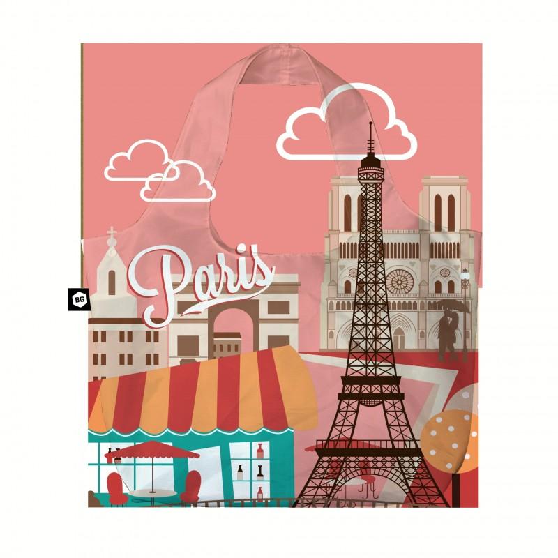 BG Berlin ECO BAG Skládací taška, vzor Paris