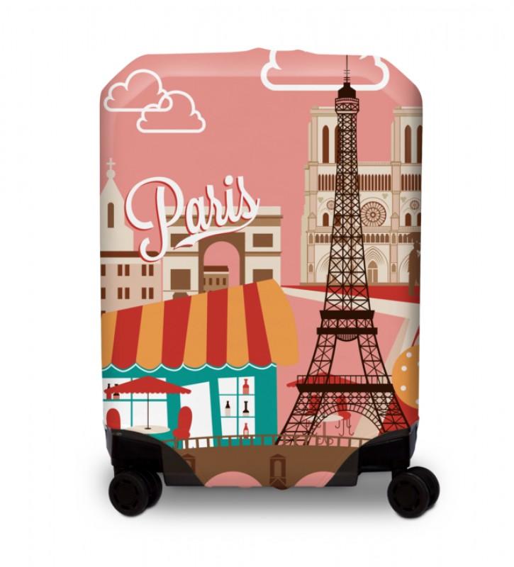 BG Berlin HUG COVER Obaly na kufr, vel. M - vzor Paris