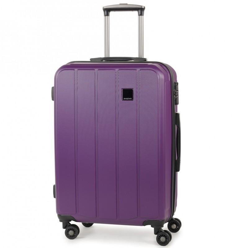 Member´s NEXA Středně velký kufr z ABS 67cm (Fialová)