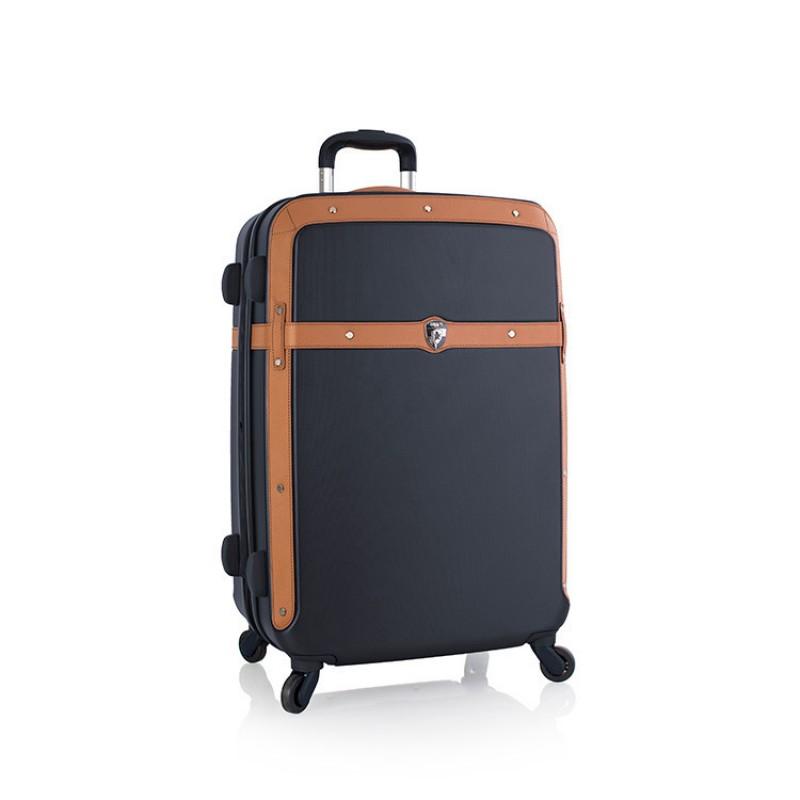 Heys HERITAGE Vintage skořepinový kufr, 66cm (Navy)